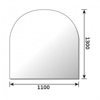 Glasbodenplatte Metherm Rundbogen 1300 x 1100 mm